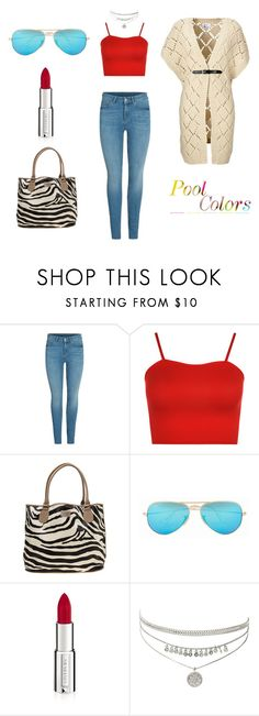 """elegant"" by leina-elansary on Polyvore featuring Vero Moda, WearAll, Diana Ferrari, Ray-Ban, Givenchy and women"