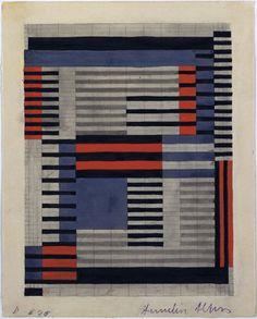 Anni Albers. Design for Smyrna Rug. 1925