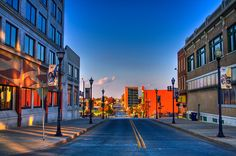 Springfield, Missouri - lived here for 11 years. Queen City of the Ozarks.