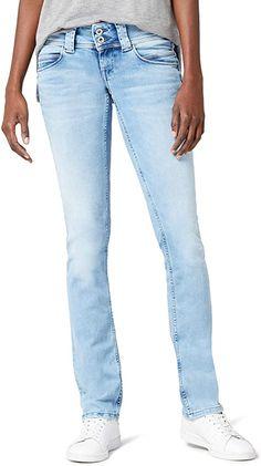 2 Größen kleiner passt.  Bekleidung, Damen, Jeanshosen Pepe Jeans, Trousers, Pants, American, Levis Jeans, Outfit, Skinny, Shorts, Cotton