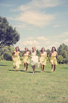 Yellow Vintage Inspired Wedding