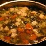 DE GROENTESOEP van mijn OMA Pork, Beef, Kale Stir Fry, Meat, Pork Chops, Steak