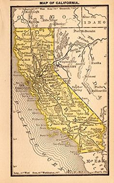 1888 Antique California Map Original Vintage State Map of... https://www.amazon.com/dp/B01HLJTZDU/ref=cm_sw_r_pi_dp_x_HsMTxbCQXVA13