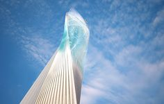 A rendering of the Miami Innovation Tower at1031 NW First Ave., that would display ads and media.