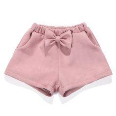 Flofallzique Toddler Girls Shorts Winter Short with Bowknot Pink Baby Girls Shorts Toddler Girl Shorts, Kids Shorts, Toddler Girls, Baby Girls, Short Niña, Short Girls, Kids Outfits Girls, Girl Outfits, Winter Shorts Outfits