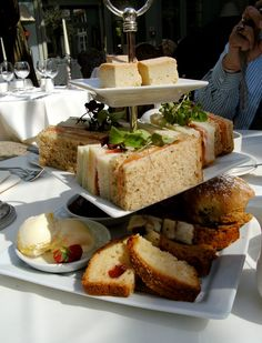 Afternoon Tea at Coombe Abbey in England