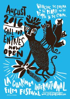 Natalya BalnovaLa Guarimba International Film Festival poster on Behance