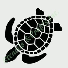 "8"" TURTLE STENCIL STENCILS TURTLES FLEXIBLE TEMPLATE ANIMAL CRAFT ART PAINT NEW"