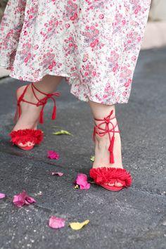 Wayf floral cutout midi dress-3