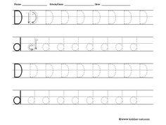 Letter Tracing: Letter B worksheet