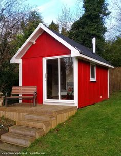 Sauna House, Cabin/Summerhouse in owned by Nick Sauna House, Shed Of The Year, Sheds, Tiny House, Small Spaces, House Plans, Villa, Floor Plans, Outdoor Structures