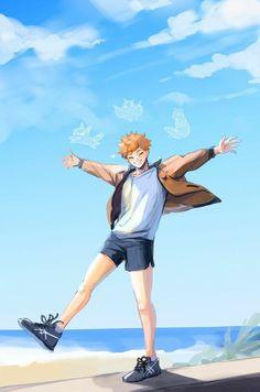 Manga Anime, Manga Haikyuu, Comic Anime, Haikyuu Funny, Haikyuu Fanart, Fanarts Anime, Anime Characters, Hinata Shouyou, Haikyuu Karasuno