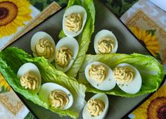 Deviled eggs with all the yummy flavors of a Caesar salad!