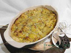 Gratin de pommes de terre au gorgonzola - Recette Ptitchef