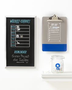 Get the family organized for 2019 with this craft from Martha Stewart and Michaels! Create a to-do list and weekly chores chart using craft paints and stencils in your kids' favorite colors and designs. Science Projects, School Projects, Personalized School Supplies, Back To School Essentials, School Accessories, Martha Stewart Crafts, Family Organizer, Household Chores, Diy Organization