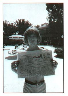 Brian Jones, Morocco '68. Photo by Michael Cooper.
