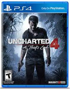 Uncharted 4 PS4 - A Thief's End - Sony PlayStation 4 BRAND NEW SEALED #Sony