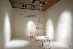 L'attimo delle idee, Paolo Ulian con/with Arianna Vanini (disegni/drawings), site specific about Vico Magistretti,  2013