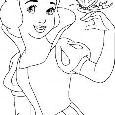 Free Printable Coloring Pages Disney Princess