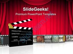 Clap Board Nature PowerPoint Templates And PowerPoint Backgrounds 0511  Presentation Themes and Graphics Slide01
