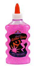 Elmer's Washable Glitter Glue, Pink