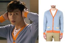 """Park Seo-Joon in """"Witch's Romance"""" Episode Marc by Marc Jacobs Silk and Cashmere-Blend Cardigan Witch's Romance, Seo Joon, Korean Drama, Dramas, Marc Jacobs, Cashmere, Silk, Clothes, Fashion"""