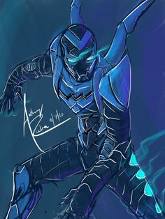 Blue Beetle III by Anthony Rocha