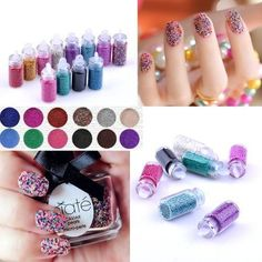 Check out this 12 colors Bottled Caviar Nail Art Plastic Ball Beads Manicure Pedicure 3D Decoration Accessories By Catalina that I found on Ziftit. http://track.mommerce.com/SH3I #nailart #fashions