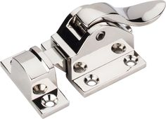 Polished Nickel cabinet latch from the Top Knobs Transcend Collection.