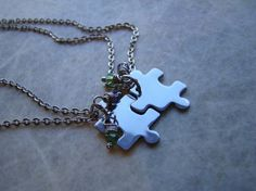 puzzle piece bff necklaces. They should make some so it would a picture, also because if u have a group of friends.