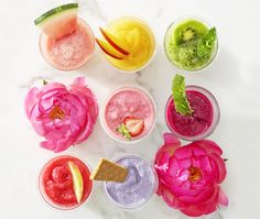 11 Must-Have Smoothies for Summer - Good Housekeeping Cocktail Drinks, Cocktails, Smoothie Recipes, Smoothies, Frozen Drinks, Punch Recipes, Good Housekeeping, Non Alcoholic, Allrecipes