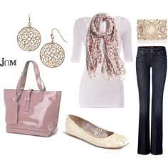 tame pink, created by jayneann1809 on Polyvore