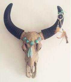 Boho Ibiza Skull by The Sunday Soul