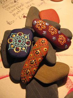 IMG_2615Painted Lake Champlain Stone Magnets