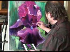 ▶ Живопись маслом для начинающих, курсы рисования для взрослых в Москве - YouTube