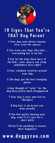 10 Signs That You're THAT Dog Parent
