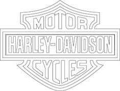 Harley-Davidson Logo Clip Art | logotipo de harley davidson vectorizado.