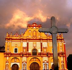 Mexico: Cathedral of San Cristóbal de las Casas, Chiapas