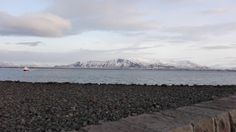 Mt Esja seen from Reykjavik