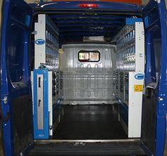 Ducato per impiantisti:  un esempio di allestimento con tantissimi spazi contenitori a bordo di Ducato Fiat.