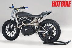 Racing Cafè: Buell Dirt Track 2004 by Hunter Klee Buell Motorcycles, Cool Motorcycles, Build A Bike, Bike Run, Bike Magazine, Street Tracker, Hot Bikes, Dirt Track