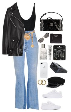 """""""suck my blood"""" by millicent4 ❤ liked on Polyvore featuring Jean-Paul Gaultier, RE/DONE, Chanel, Acne Studios, Vans, MILK MAKEUP, Le Labo, Topshop and Polaroid"""