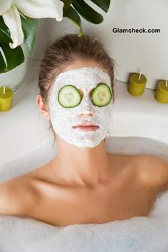 Everybody knows the benefits of a spa mask treatment, but we also know most wallets can't support too many spa days. These DIY face masks are the perfect solution. Get all the benefits of an in-spa treatment with ingredients you can (mostly) find in your own kitchen. Remember, it's always a good idea to test DIY beauty products on a small patch of skin on your wrist before applying it to your face.