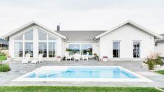 Scandinavian Modern, House Plans, Villa, House Design, Mansions, Pergola, House Styles, Outdoor Decor, Inspiration