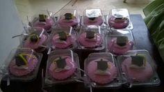 cupcakes vainilla para Graduacion