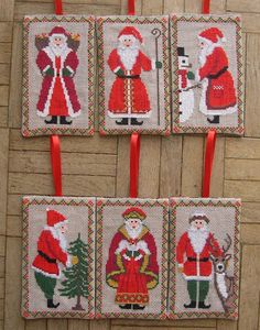 Six Santas to Stitch