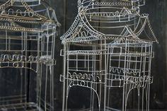 Wire bird cages...
