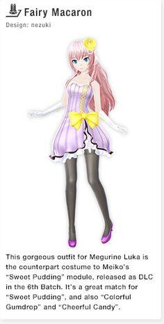Fairy Macaron Design: nezuki