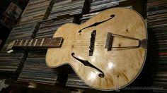 Antigua guitarra Archtop para blues o jazz original de los años 50s