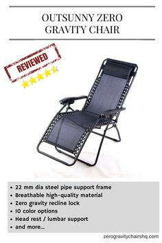 with outsunny zero gravity recliner lounge patio pool chair your search for reliable high quality and beautiful zero gravity chair meets destination